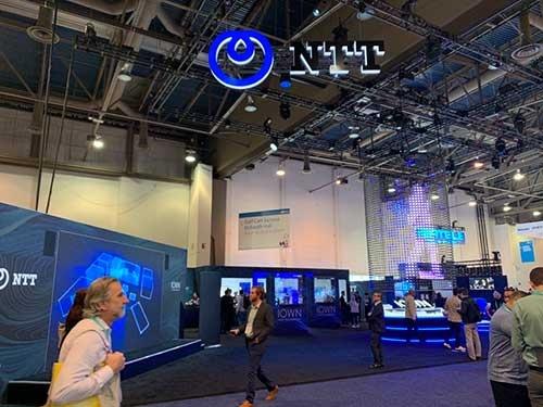 NTTは世界最大のデジタル技術見本市「CES」に初参加し、自社開発の技術をアピールした