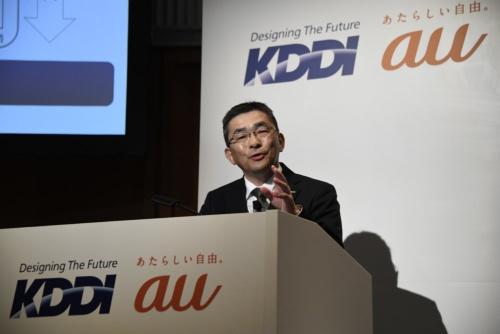 高橋誠社長は多数の異業種との提携をまとめてきた(写真:共同通信)
