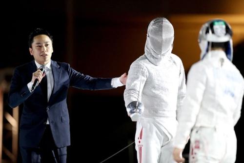 日本フェンシング協会の太田雄貴会長(写真:竹見脩吾)