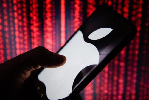 悪材料が出尽くしたとしてアップルの株価は上昇したというが……(写真=SOPA Images/Getty Images)