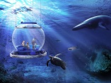 透明「バルーン」で水深100mの海中観光、21年にも