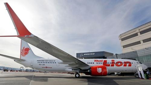 インドネシアの格安航空会社ライオン航空は200機以上あった737MAXの注文を見直す(写真:AP/アフロ)