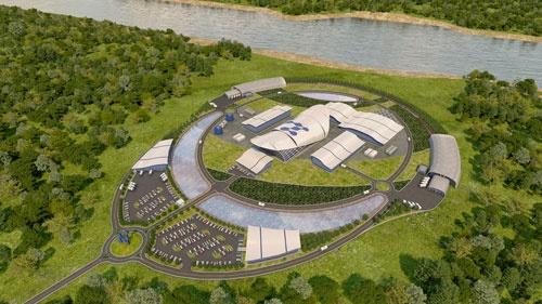 日揮にとって原発建設の受注は悲願(米国で建設する発電所のイメージ)