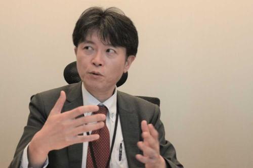 「ジャパンタクシーにキャッチアップしていく」と意気込むみんなのタクシーの西浦賢治社長