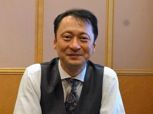HAPSモバイル社長を務めるソフトバンクの宮川潤一副社長