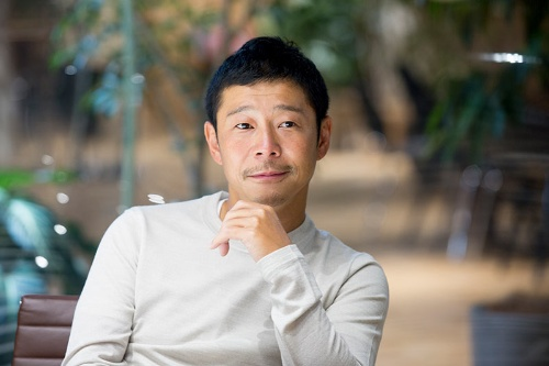 「ブランドからの信頼を少し失ってしまった」。前澤友作社長は反省の弁を述べた。(写真=的野弘路)