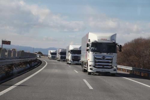 トラック分野では隊列走行など自動運転分野でも開発競争が激しくなっている