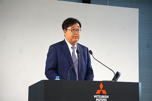 三菱自動車の益子修会長兼CEO(最高経営責任者)