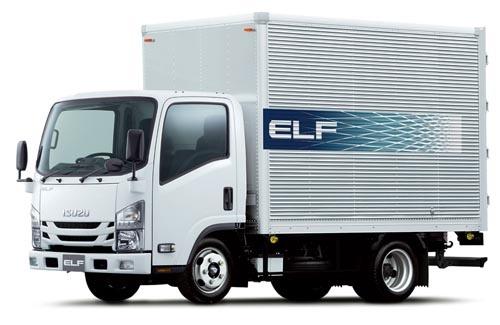 小型トラック「エルフ」の販売が好調で19年3月期は過去最高益を更新