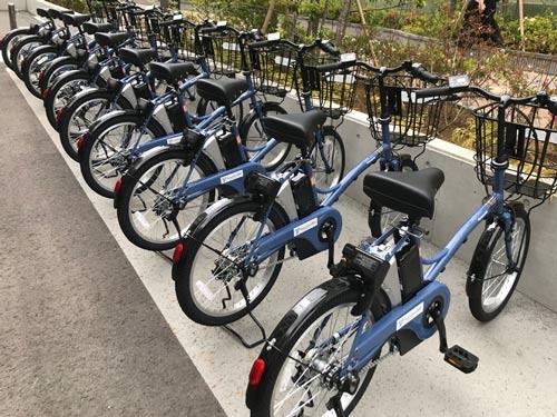 パナソニックは横浜市でシェア自転車サービスを始める
