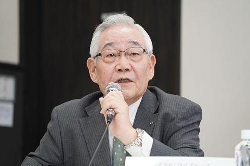 5月13日に指名委員として8人の次期取締役候補者を発表していた菊地義信取締役。この日からさらに2人を追加した。