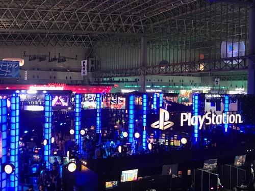 「東京ゲームショウ2019」にはNTTドコモやソニー・インタラクティブエンタテインメント、スクウェア・エニックスなど650社以上が参加した