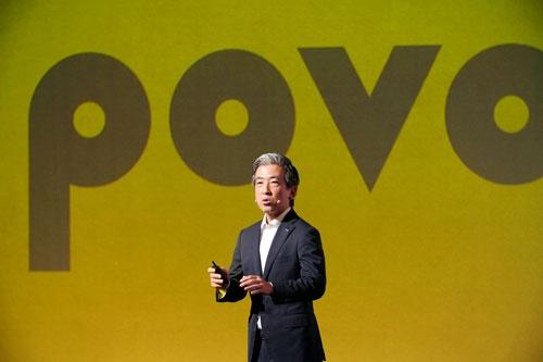 3月に始めたばかりのポヴォを大幅に見直すと発表したKDDI Digital Lifeの秋山社長