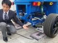東大、ブリヂストンなど4社と走行中に電気を受け取れるタイヤを開発