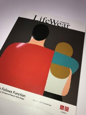 ファーストリテイリングが19年8月に創刊した雑誌『LifeWear magazine』