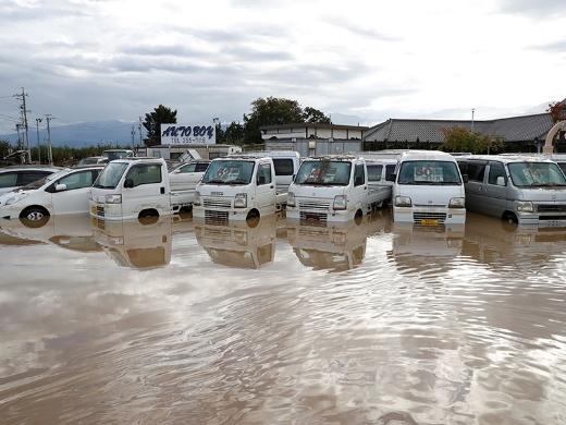 台風でクルマが水没したらどうする? 3つの疑問に答える