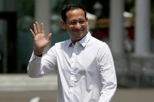 ゴジェックCEOを退任し、第2期ジョコ政権で閣僚に就任する共同創業者ナディム・マカリム氏(写真:ロイター/アフロ)