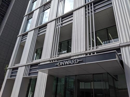 東京都中央区日本橋にあるオンワードホールディングス本社