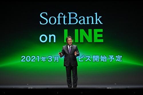 LINEの資産を使ってNTTドコモに真っ向から対抗策をぶつけてきたソフトバンクの榛葉淳副社長兼COO(最高執行責任者)