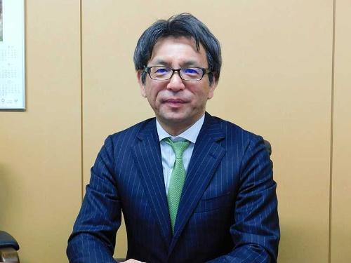 開発継続を宣言するサンバイオの森敬太社長