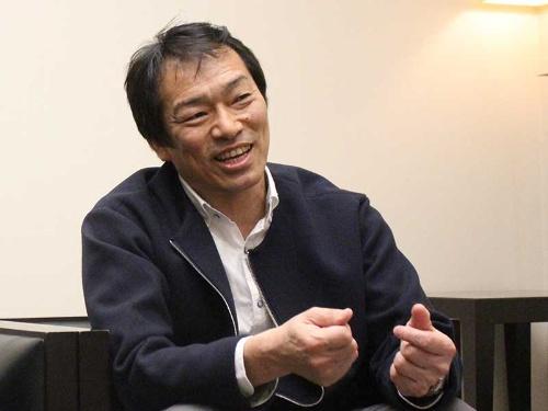 「型にはまらない自由な発想を持つ人材を求めている」と話す隅田氏