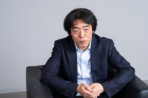 川西氏は「aiboは生き続けるもの」と捉えている(写真:吉成大輔)