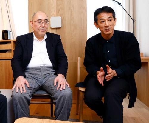 右から梶原文生氏、生明弘好氏