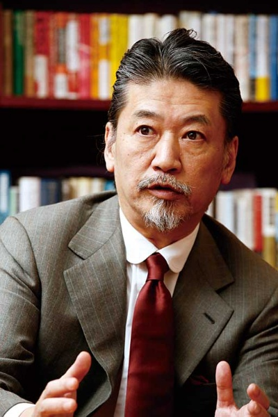 「理想の経営者」と言われたCEOの牧野正幸氏(写真:尾関 裕士)