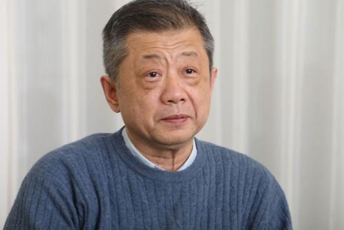 潮田氏は社員や株主、取引先に対する説明を求められそうだ。(写真=稲垣 純也)