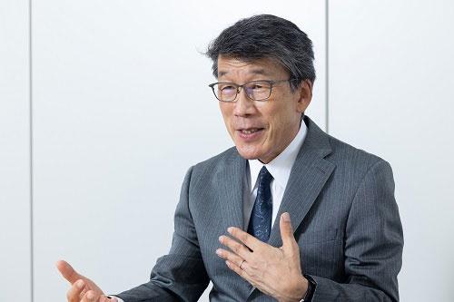 内閣府 SIP プログラムディレクタ(PD)</br>情報セキュリティ大学院大学 学長</br>工学博士</br>後藤 厚宏 氏