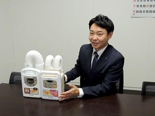 カラリエの開発責任者である河阪雅之氏