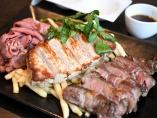 デニーズで1皿3672円! 「肉の盛合せ」いかがですか?
