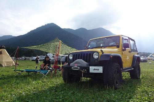 キャンプや野外フェスなどアウトドアのイベントに積極的に参加