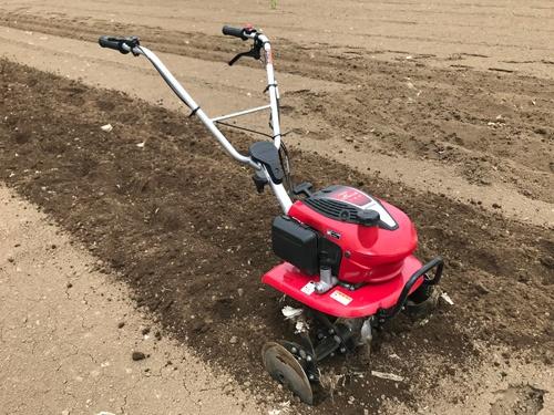 ホンダの車軸ローター式耕運機「こまめ」