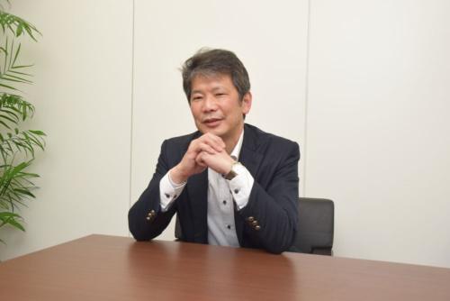 NTT西日本ビジネスフロントの渋谷誠営業部長