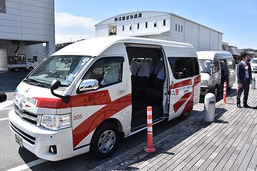 二次交通の要として期待される乗り合いタクシー(静岡県下田市)