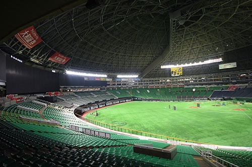 球場を買収したことで改修がしやすくなった。以前に比べると設備が新しくなり、広告が増えた