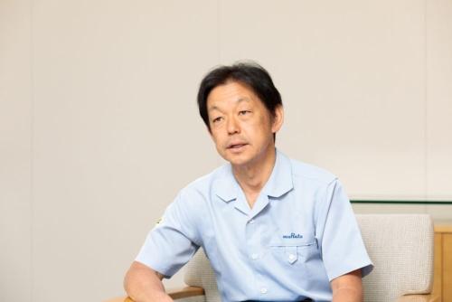 電池事業を率いる中島規巨専務執行役員(写真:山本尚侍)