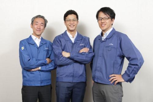 全固体電池の開発メンバー。ソニー出身者と村田製作所のメンバーが一体になって開発が進む(写真:行友 重治)