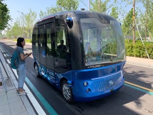 百度の自動運転バス