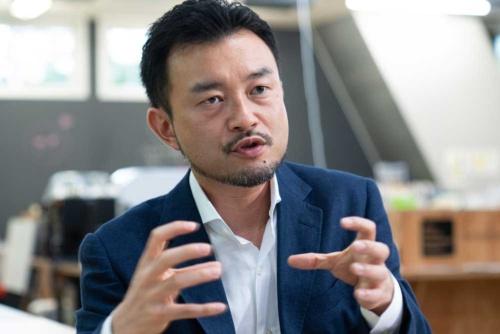 ソニーStartup Acceleration部門の小田島伸至・副部門長(撮影:吉成大輔)
