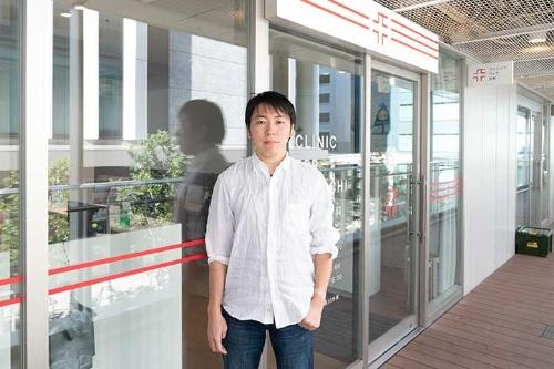 リンクウェルの金子和真CEO(写真:稲垣純也、以下同じ)