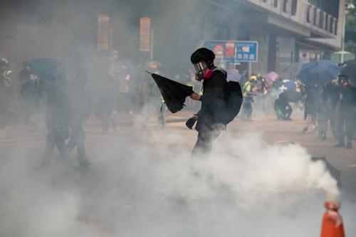 香港情勢は五里霧中でますます見通せなくなった(写真/的野弘路)