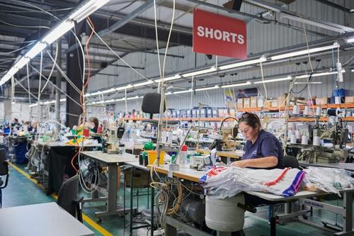 736人の従業員がオニールの北アイルランドの本社で働く。半分は南のアイルランドに住んでいるという。(写真:永川智子)