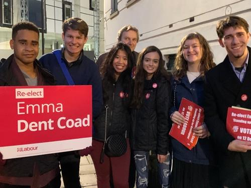 労働党では若者たちの選挙キャンペーンが目立ったが、支持に広がりを欠いた