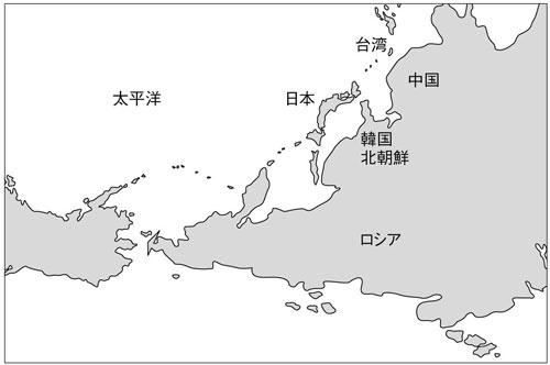 """●ロシアや中国は、太平洋に出るために、日本を""""通る""""必要がある"""