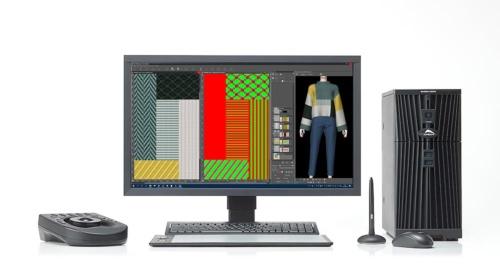 島会長はコンピューター編機と連動するデザインやプログラミングのためのシステム「SDSシリーズ」も開発した(写真提供=島精機製作所)