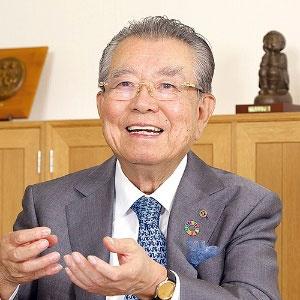 島精機製作所の島正博会長(写真=生田将人)