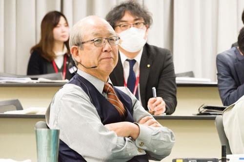 アイリスオーヤマの大山健太郎会長(写真/尾苗清)