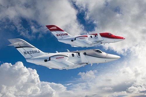 ホンダジェットの運用機体数は約160機に達している